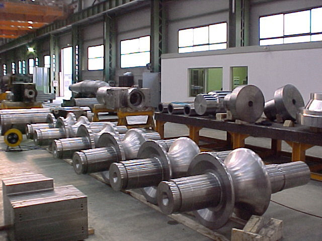 Mechanical Industry - Fully finished rollers for mills